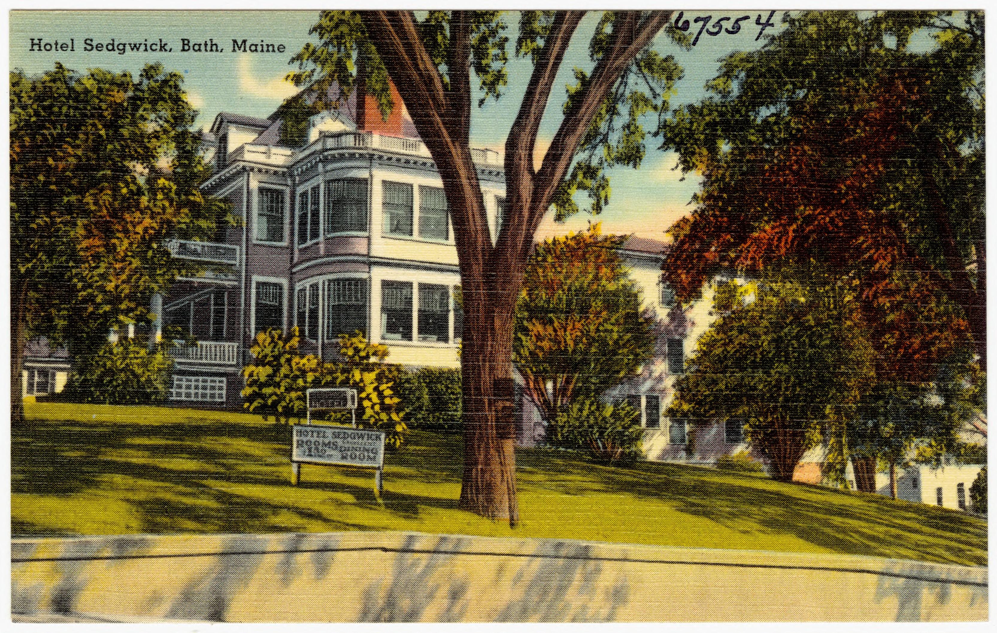 File Hotel Sedgwick Bath Maine 67554 Jpg