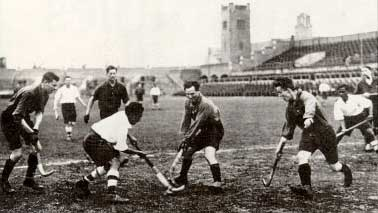 File:Indian hockey team 1928 Olympics match.jpg