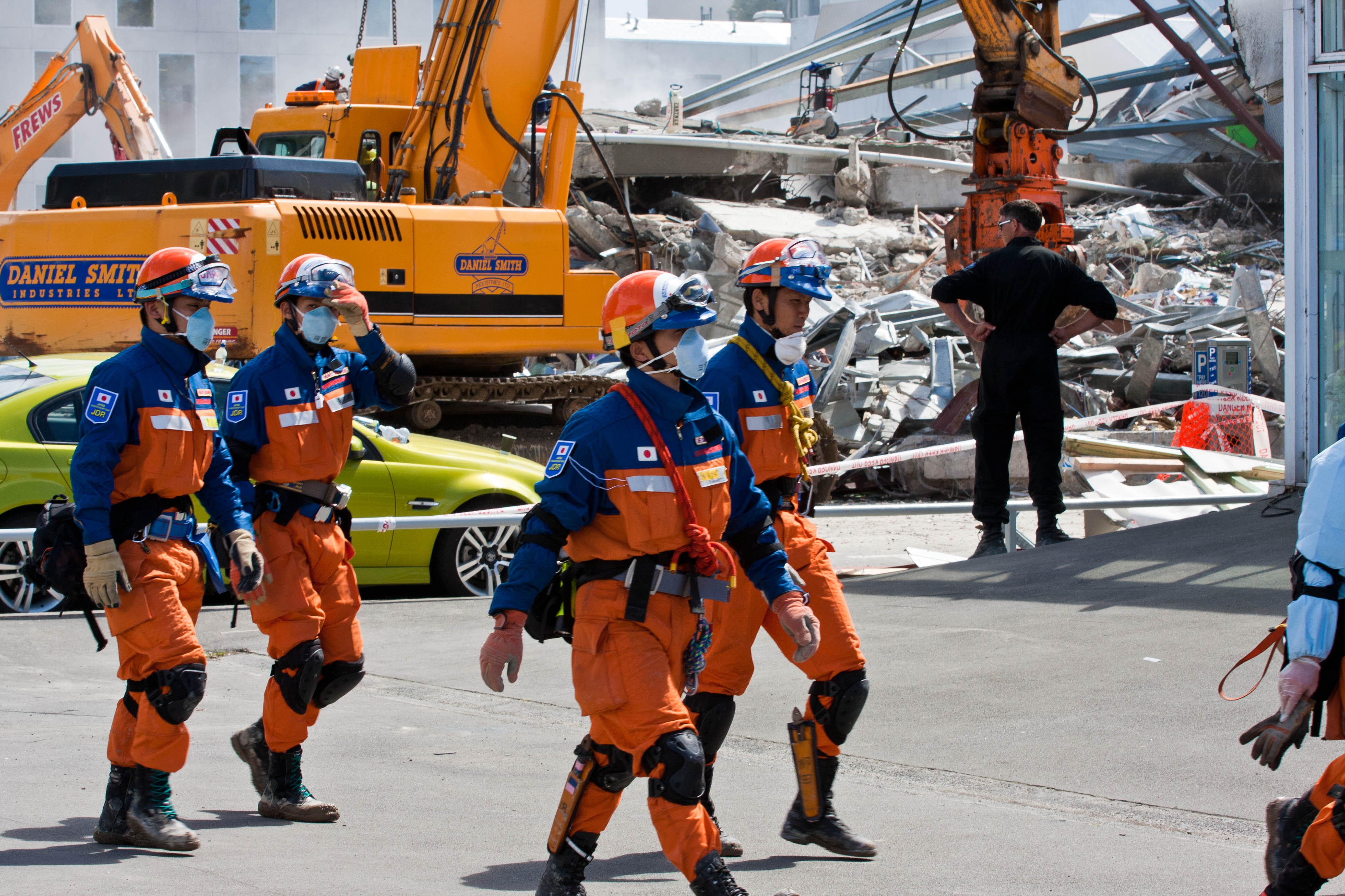 File:Japanese Urban Search And Rescue Team At The CTV