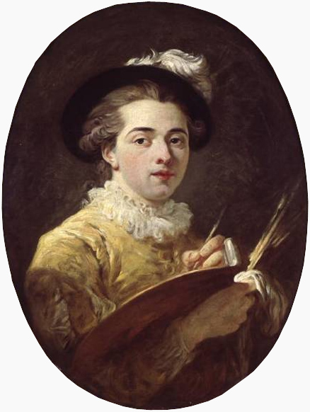 Jean-Honoré Fragonard - Self-portrait in a Renaissance costume
