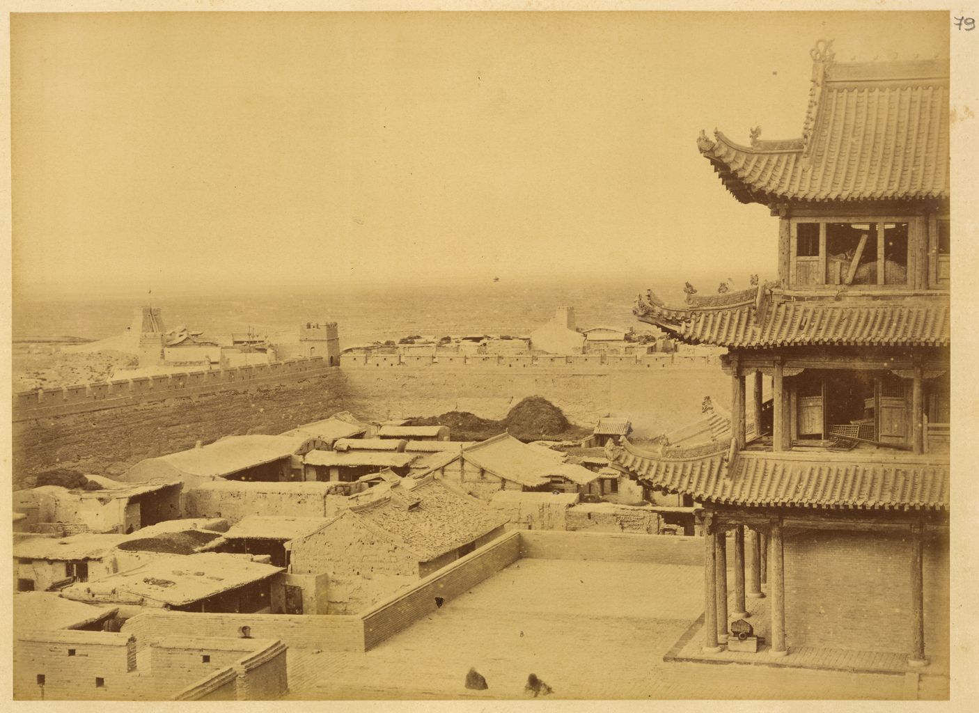 File:Jiayuguan Fortress, the Westernmost Fort on the Great Wall of ...