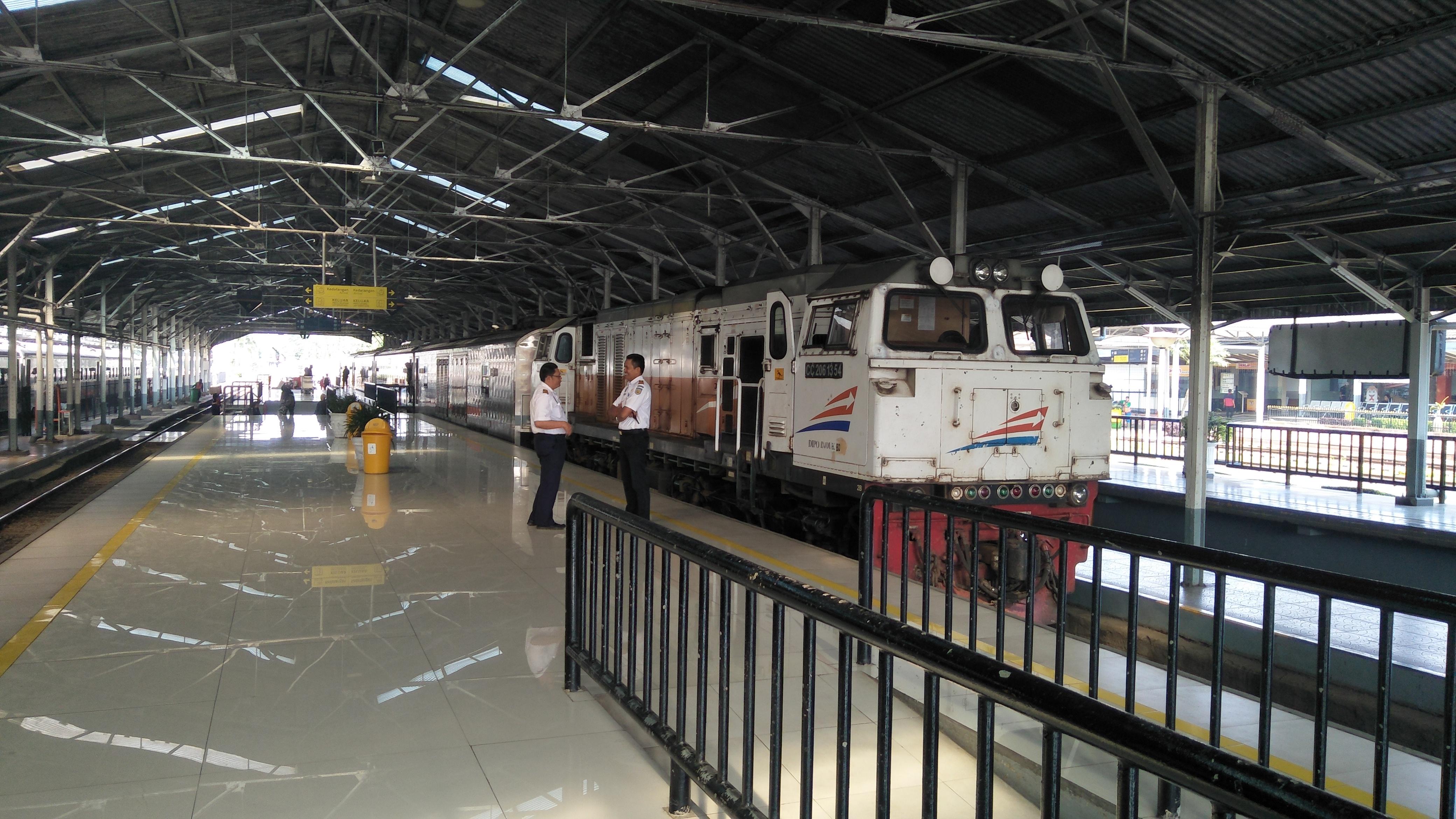 Kereta Api Pangandaran Wikipedia Bahasa Indonesia Ensiklopedia Bebas