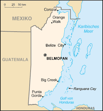 Belize Karte.File Karte Von Belize Png Wikimedia Commons