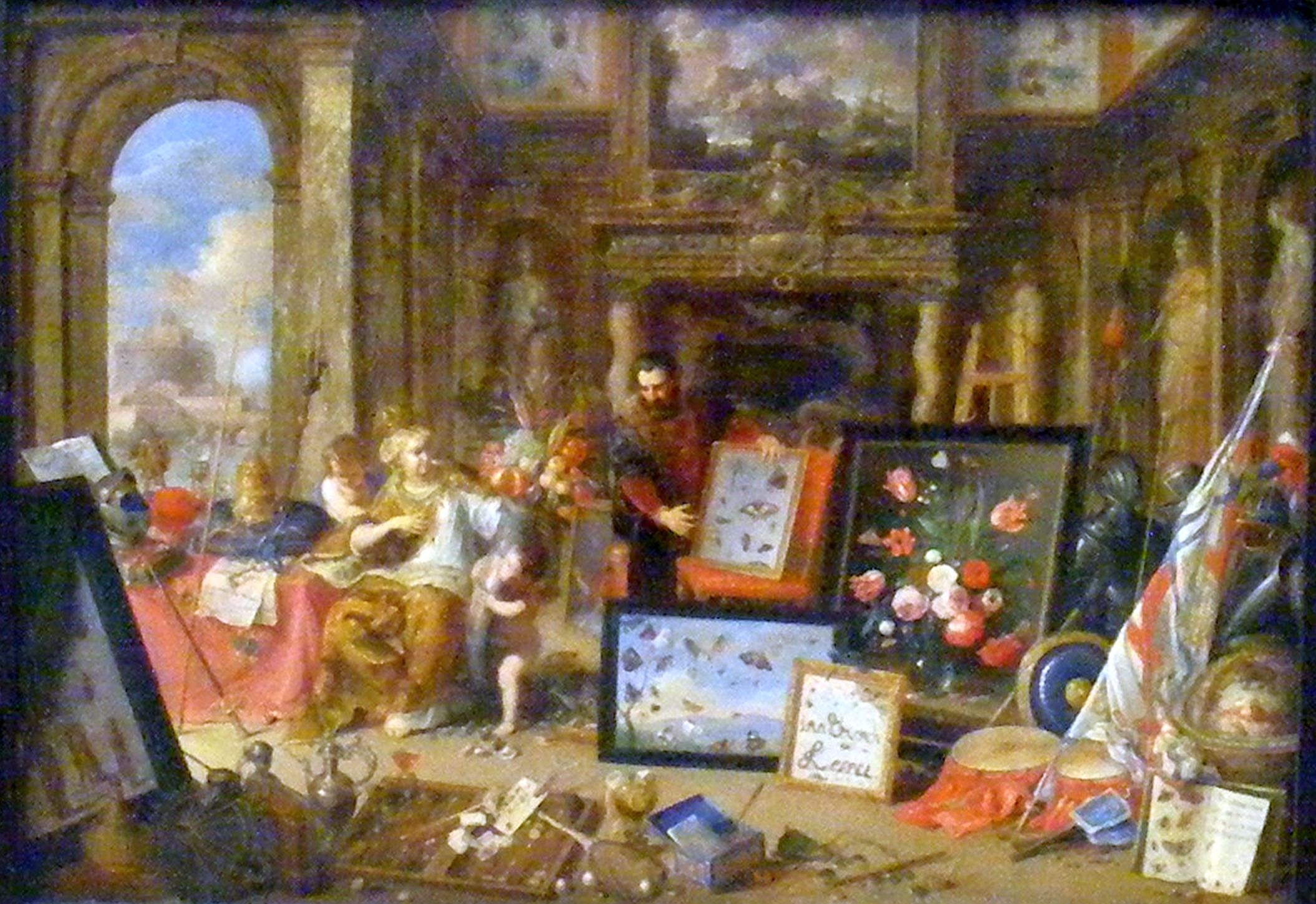 File:Kessel, Jan van I - Der Erdteil Europa - Rome.jpg - Wikimedia ...