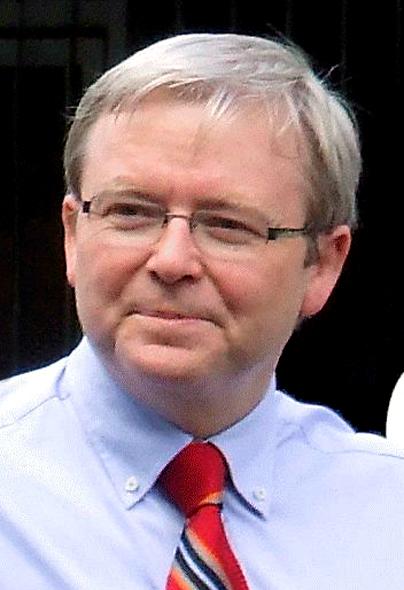 Kevin Rudd, Australian PM