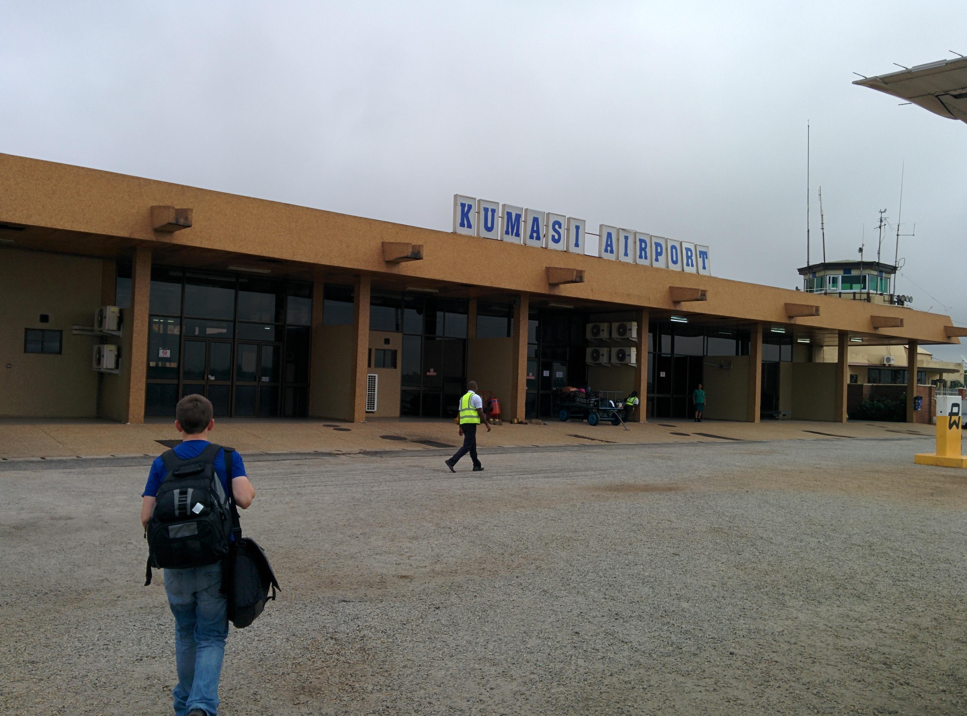 Kumasi, Ashanti and near Moon&Star