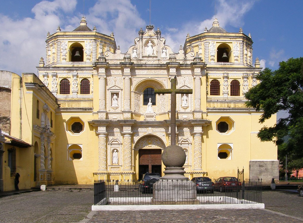 La Merced Church Antigua Guatemala 2