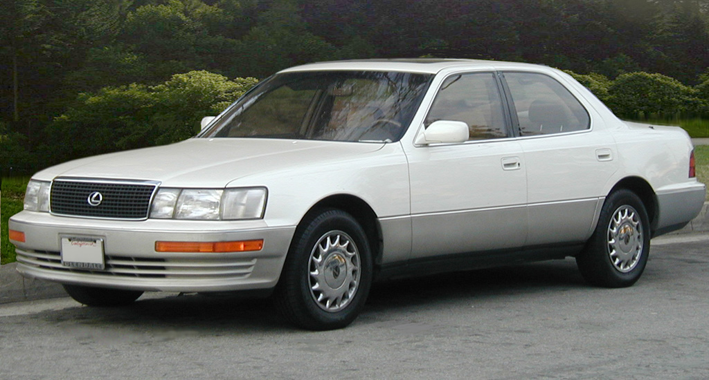 LS 400 sedan launched in 1989