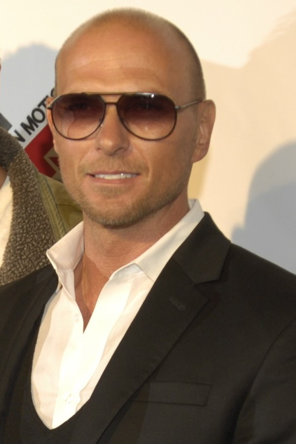 Goss at the ''[[Blood Out]]'' premiere in 2011
