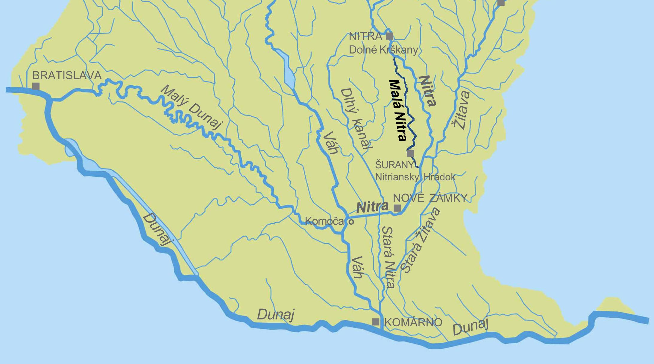 File Mapa Mala Nitra Jpg Wikimedia Commons