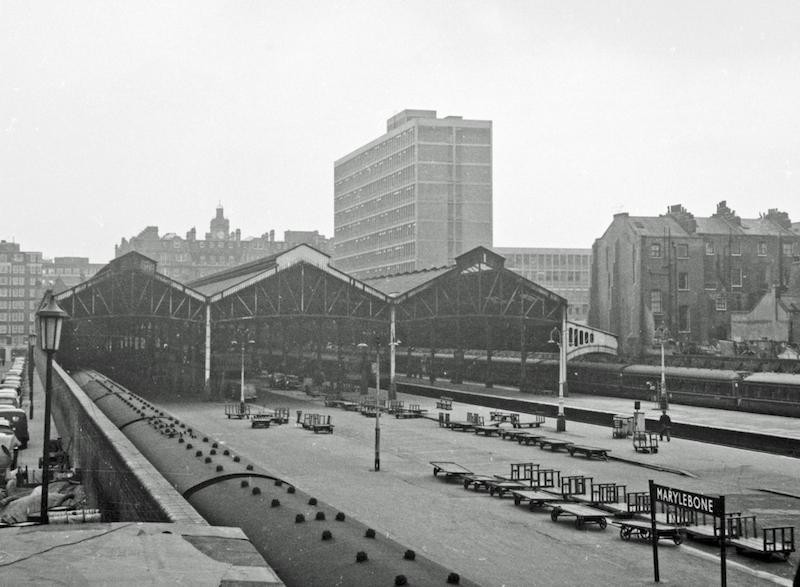 Marylebone 1 1966 - Marylebone station's anniversary