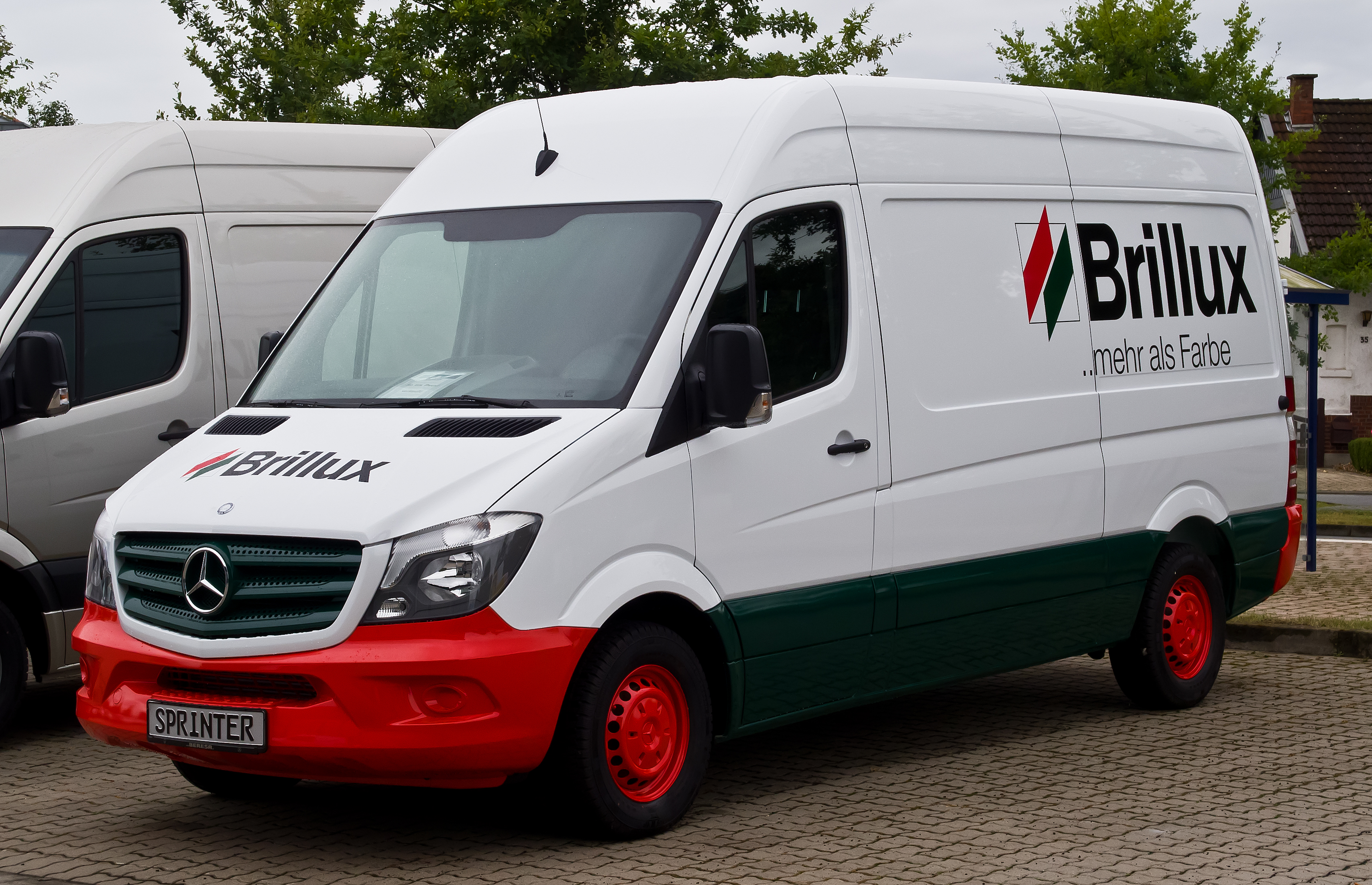Datei mercedes benz sprinter kastenwagen 313 cdi brillux for What is a mercedes benz sprinter