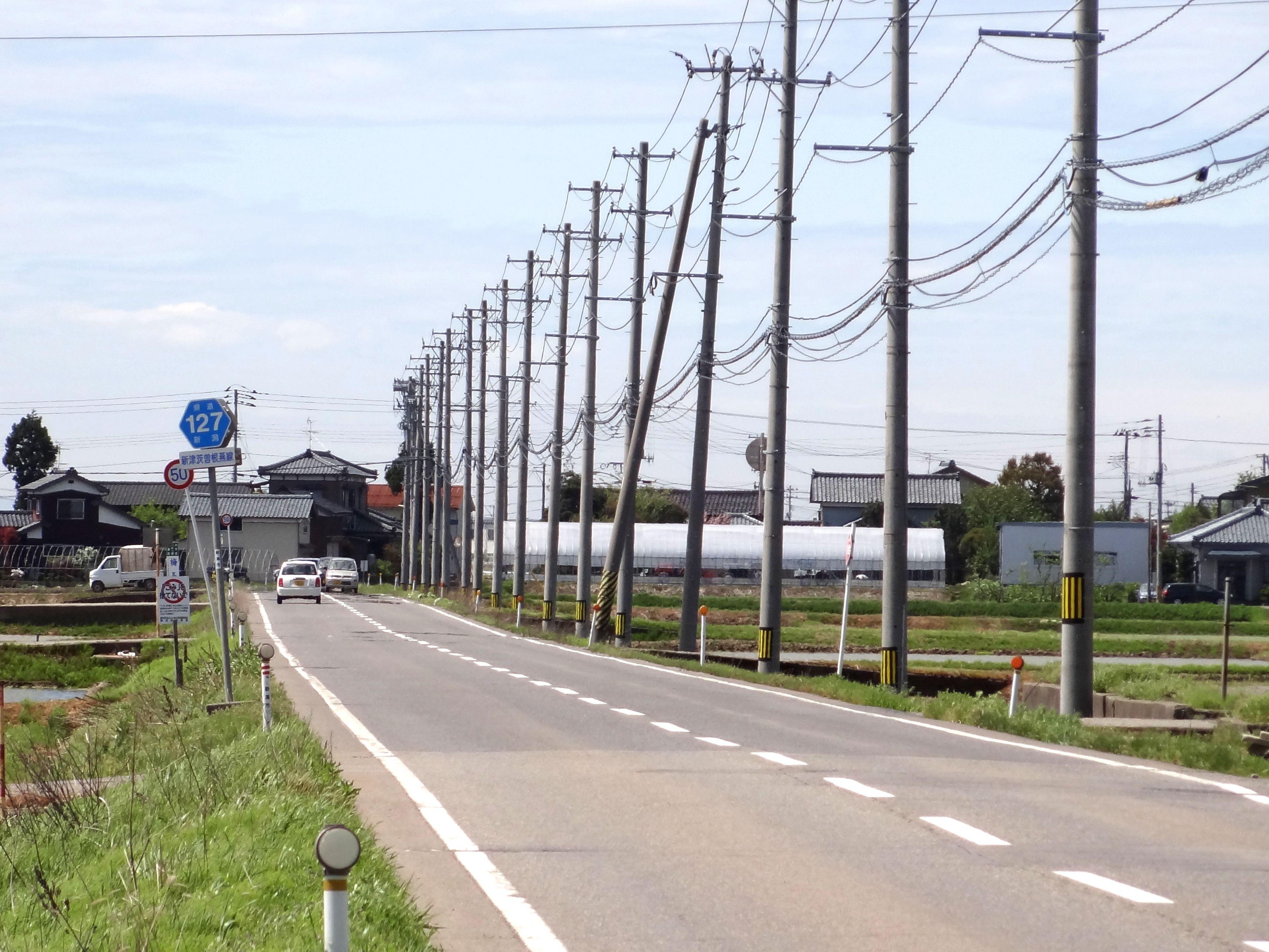 新潟県道127号新津茨曽根燕線 - ...