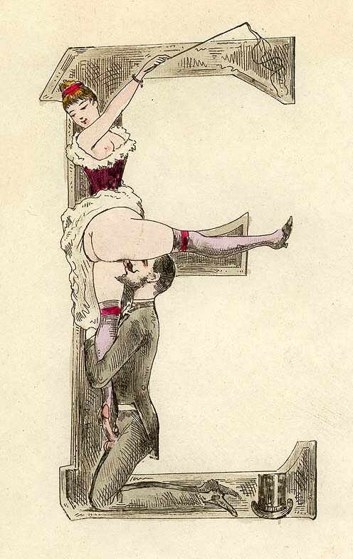 Erotic drawing century