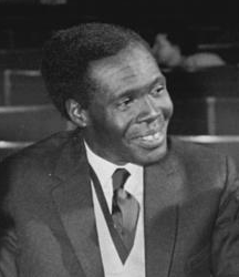 Photo of Milton Obote in 1960