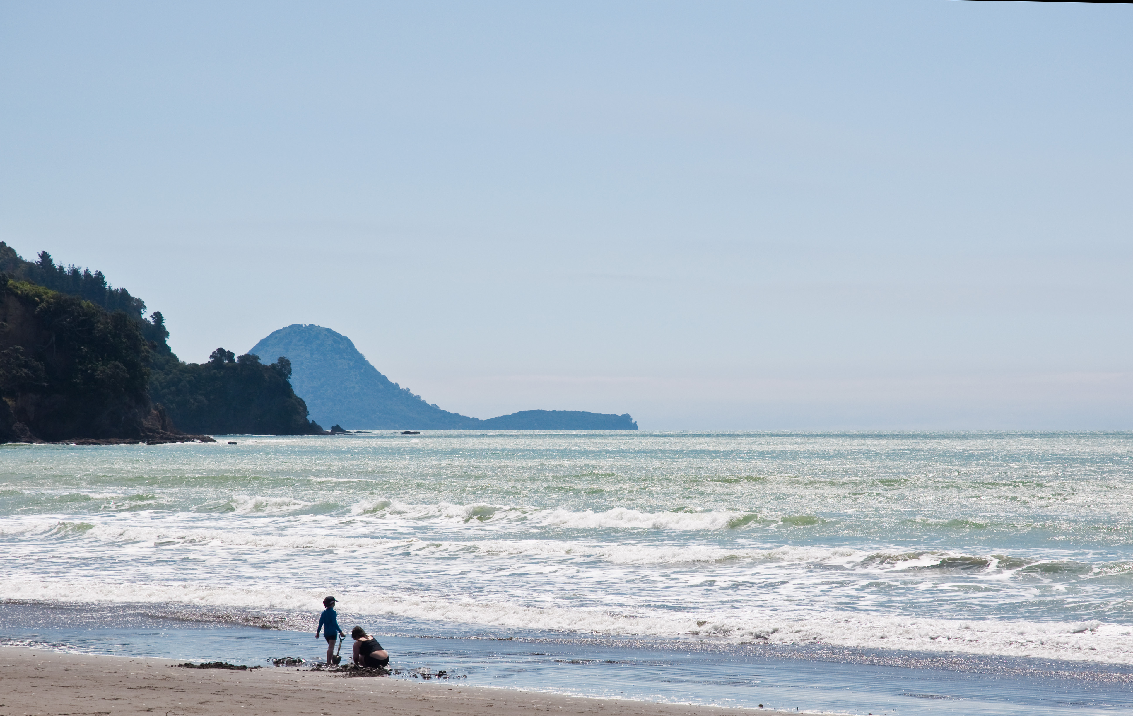 Ohope Beach New Zealand  city images : Description Ohope Beach and Motuhora, Bay of Plenty, New Zealand, 16 ...