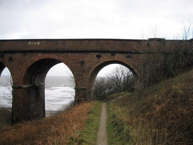 On the Coastal Path at Hawthorn Dene - geograph.org.uk - 322819