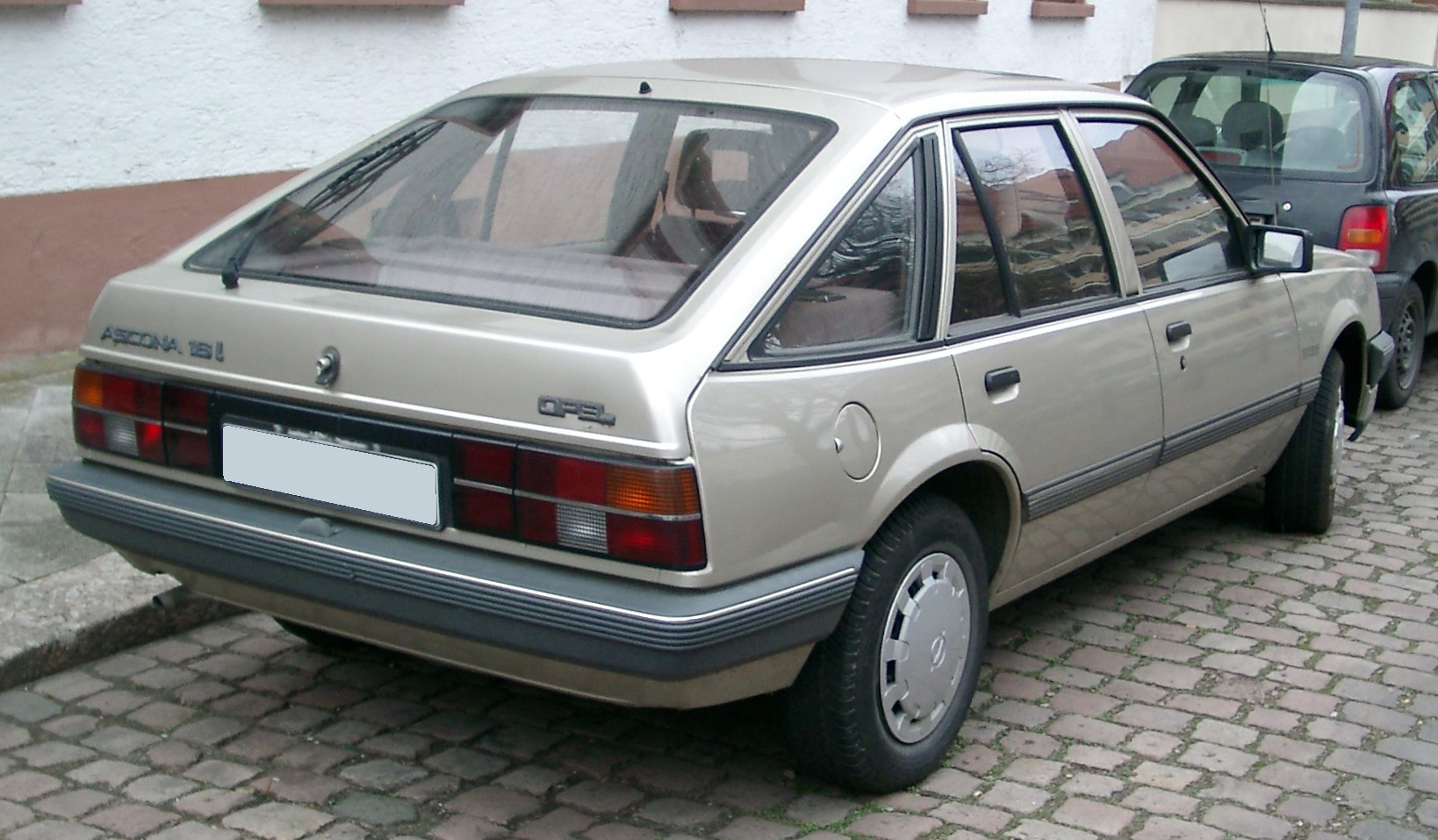 file opel ascona rear wikipedia. Black Bedroom Furniture Sets. Home Design Ideas