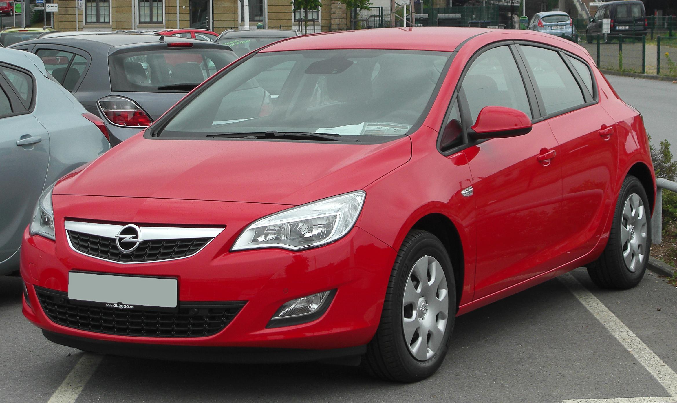 Młodzieńczy Opel Astra J – Wikipedia, wolna encyklopedia GX67
