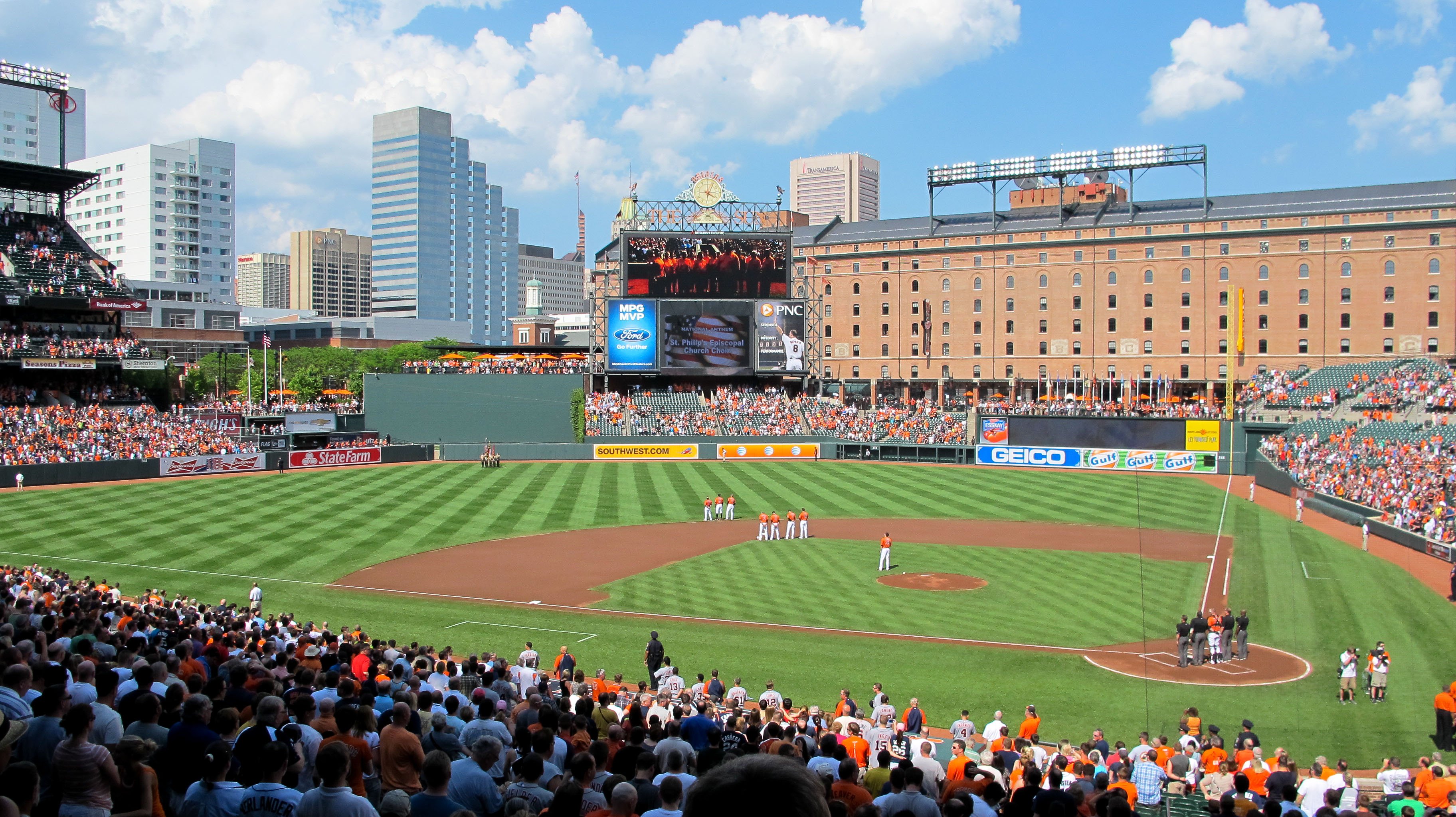 Oriole park at camden yards wikiwand for The camden