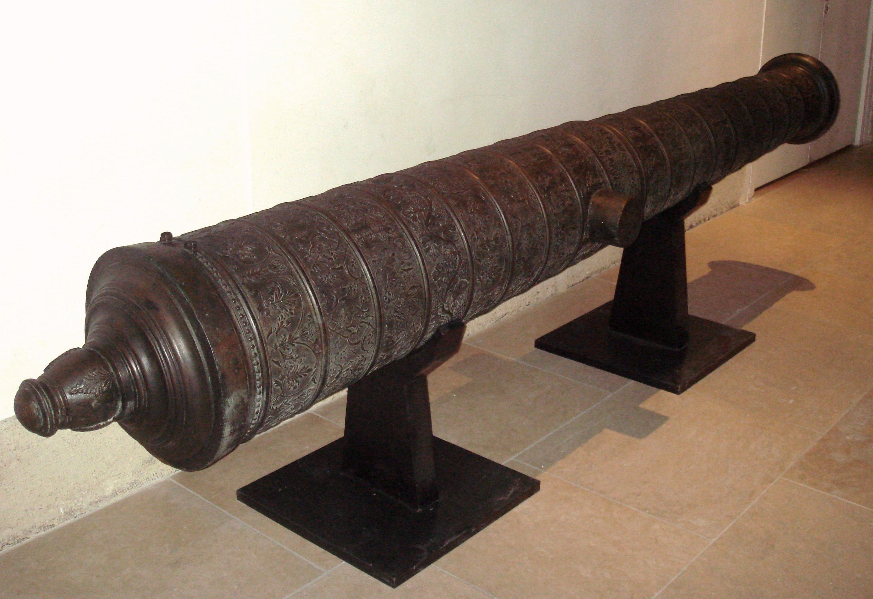 Fileottoman Cannon End Of 16th Century Length 385cm Cal 178mm