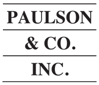 Paulson & Co. American investment management firm
