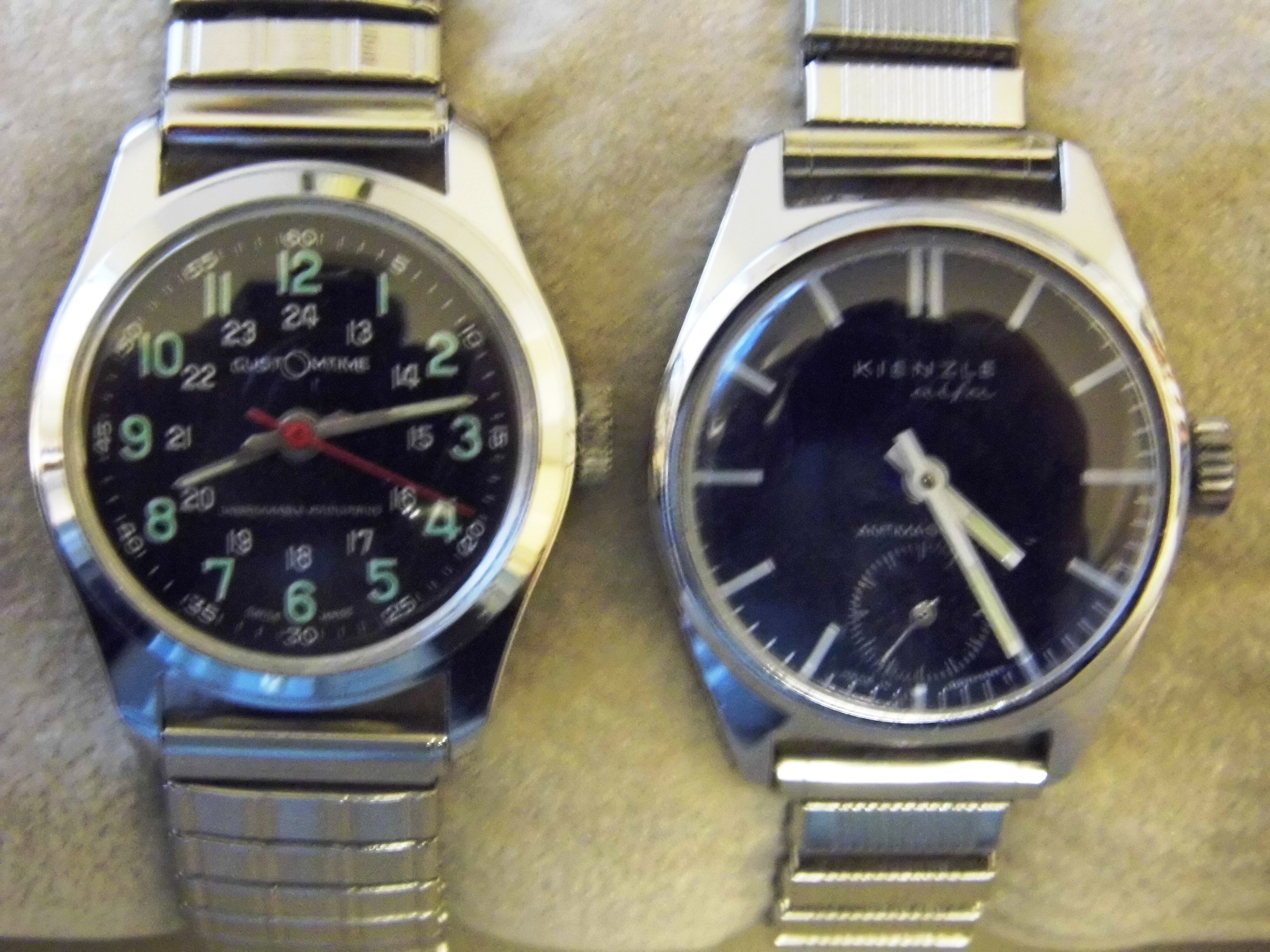 file pair of inexpensive manual wind men s wristwatches Timex Manual Wind Watches Mechanical Manual Wind Watches