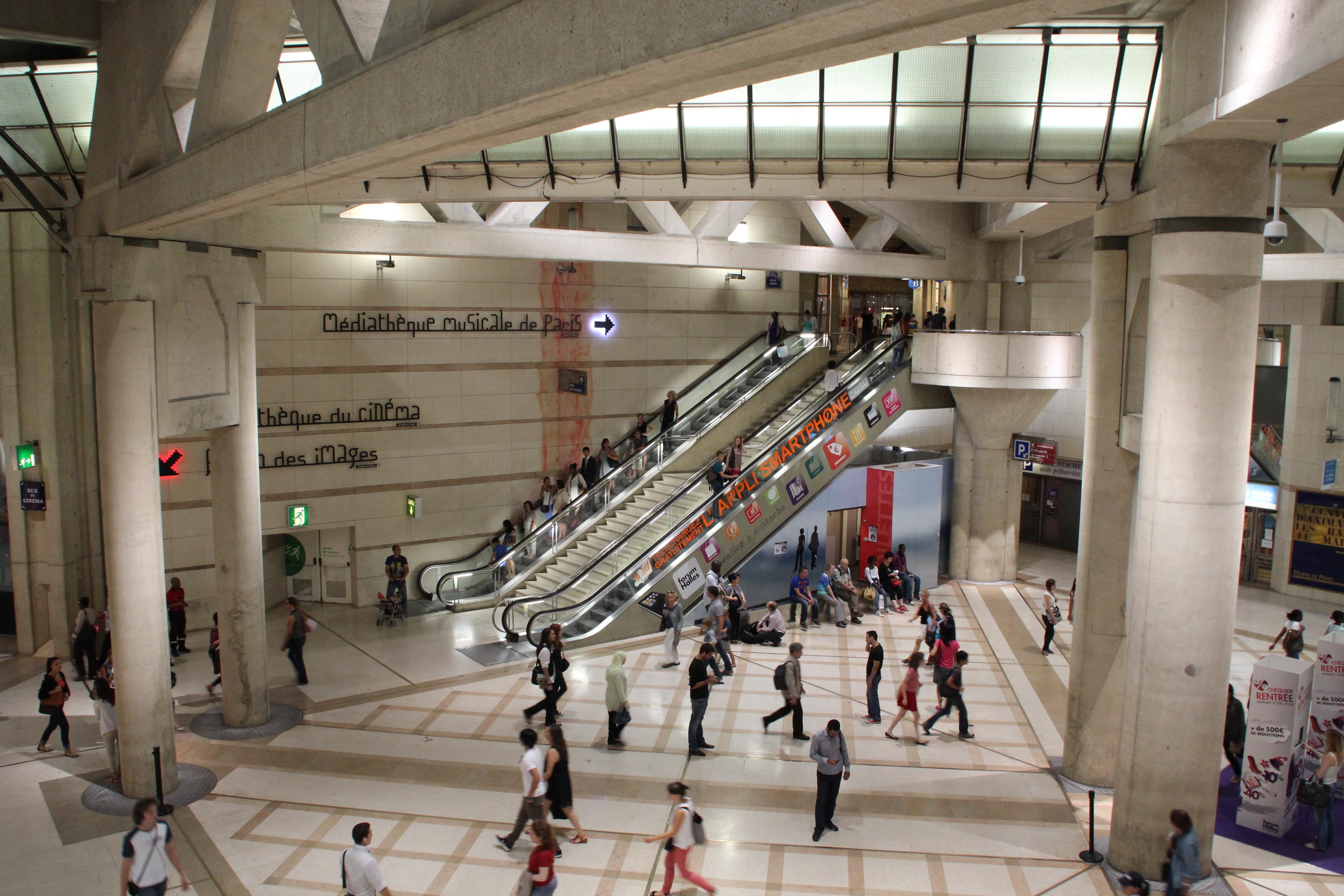 File paris forum des halles 2012 wikimedia commons - Les halles boutiques ...