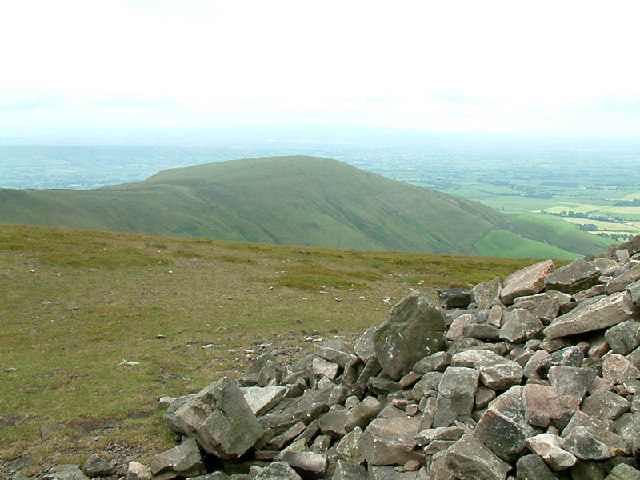 Parlick from Fair Snape Fell 7948