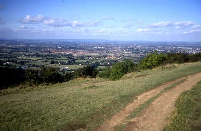 Path on the top of Leckhampton Hill - geograph.org.uk - 480135