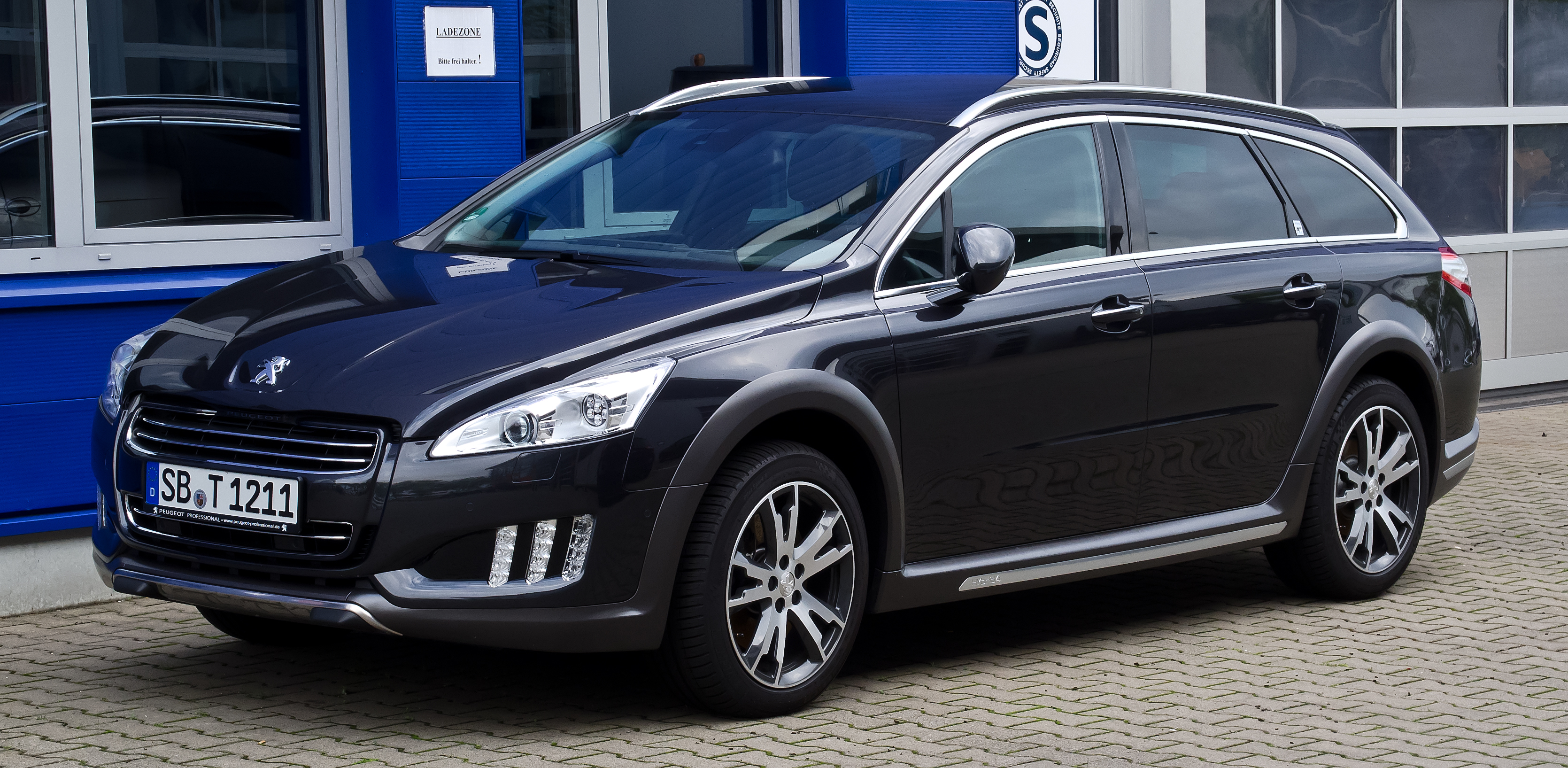 file peugeot 508 rxh hybrid4 frontansicht 15 juli 2012 d wikipedia. Black Bedroom Furniture Sets. Home Design Ideas