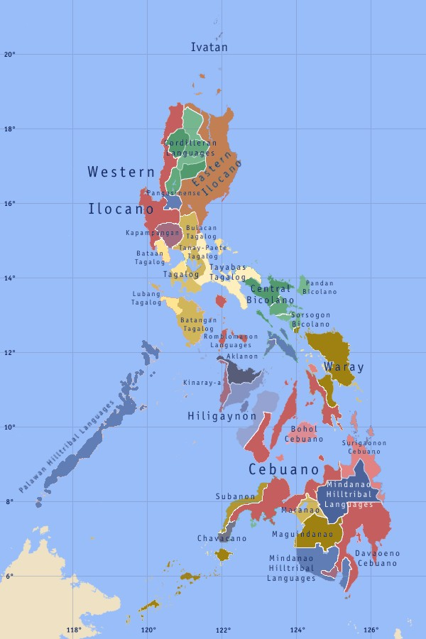 Languages of the Philippines - Wikipedia