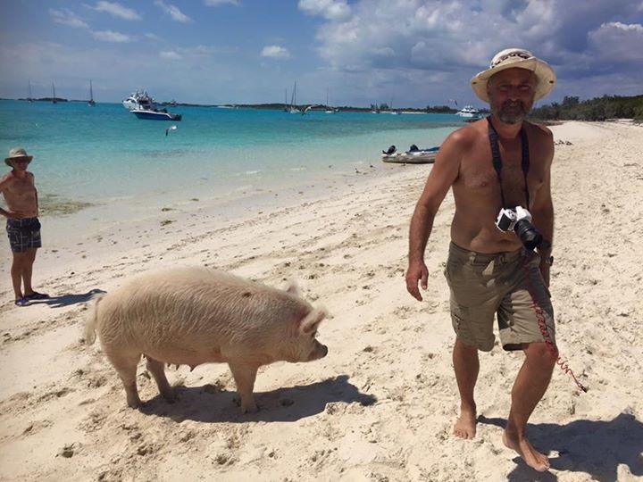 PigBeachTourists