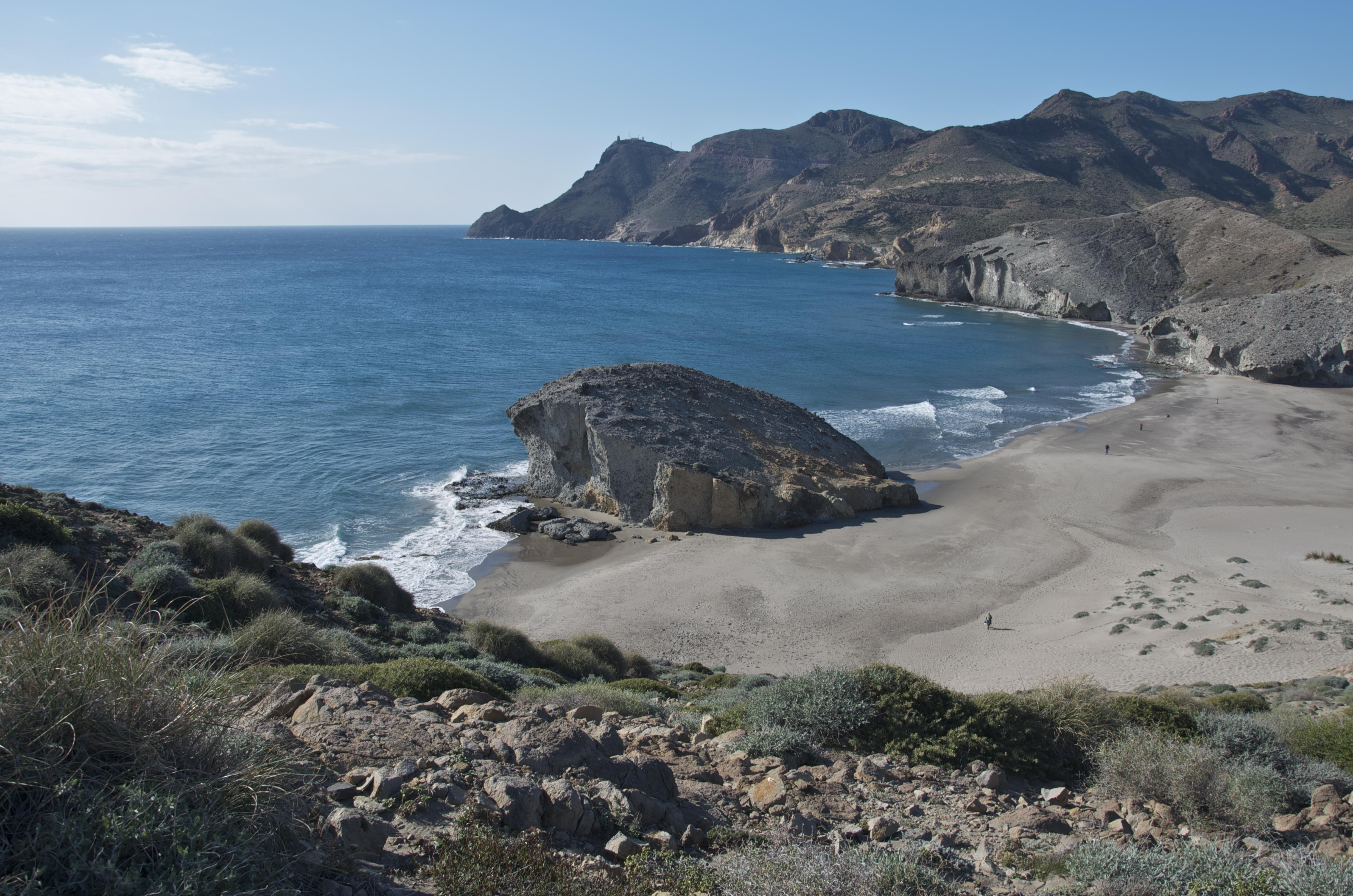 File playa de wikimedia commons for Cabo de gata spain