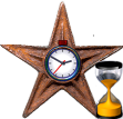 English: Barnstar for punctuality Italiano: Ba...