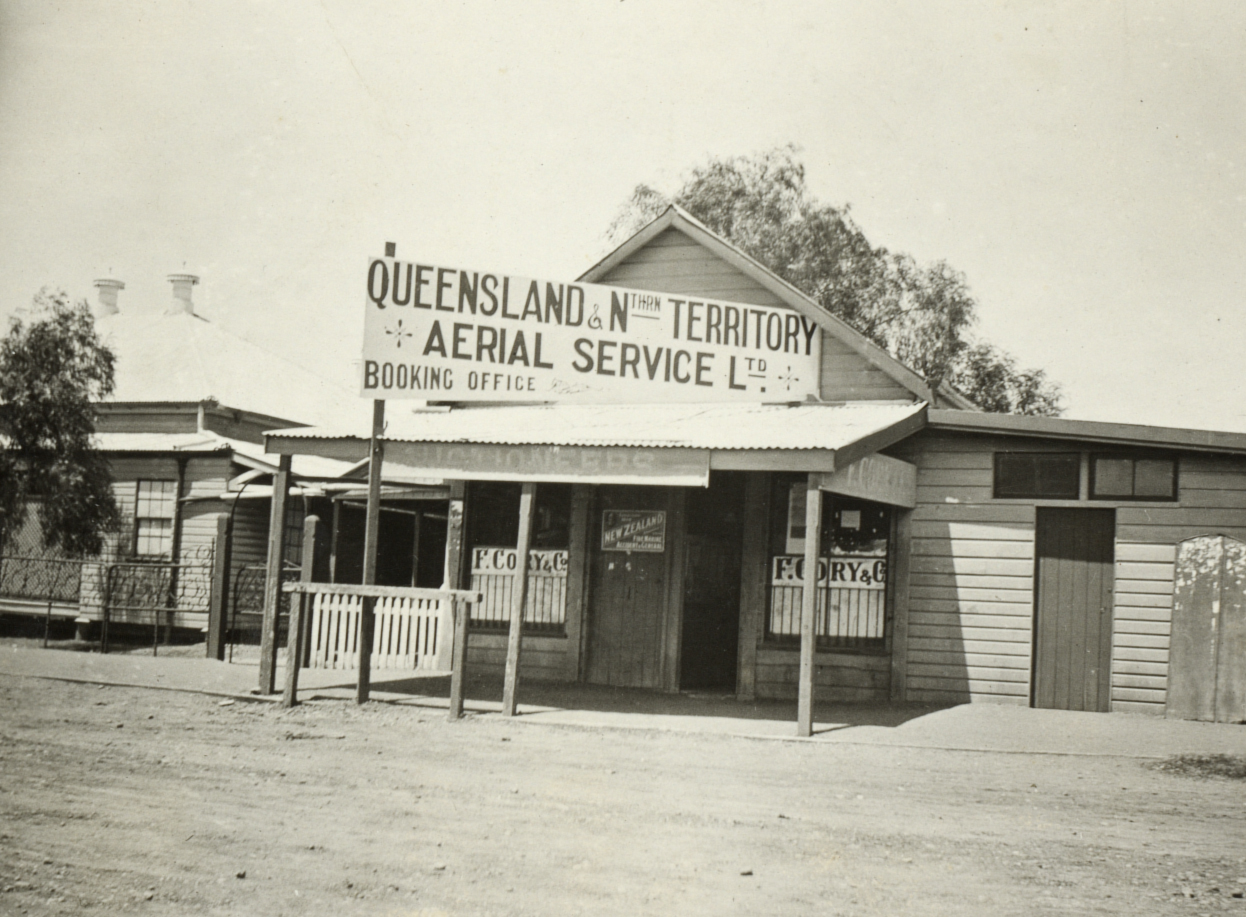 qantas first office longreach queensland 1921slnsw a1178007u.jpg