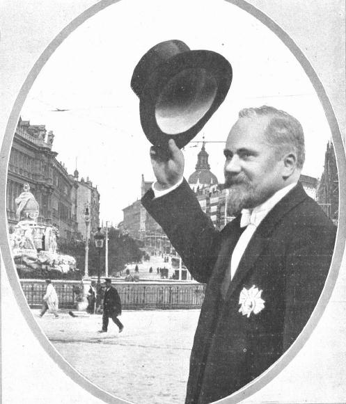 Raymond Poincaré en Cibeles