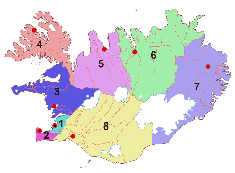 Image:Regions of Iceland