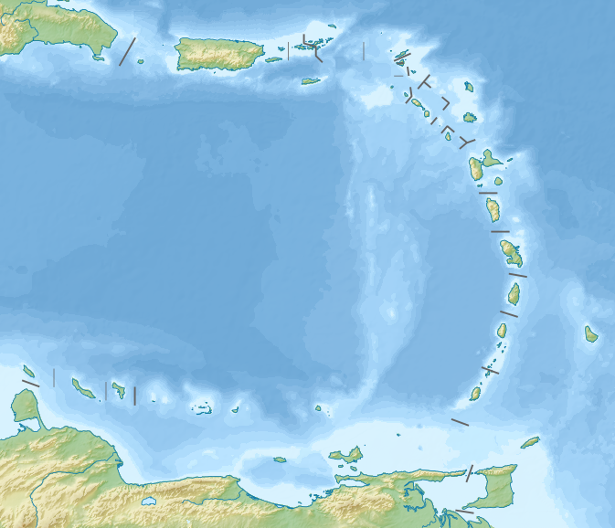 Archivo:Relief map of Lesser Antilles.png