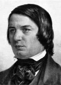 Robert Schumann vor 1856 zur Zeit der Geistervariationen