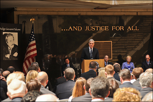 Robert Swan Mueller at a memorial event for G Falcone.jpg