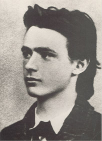 Rudolf Steiner, graduation photo from secondary school