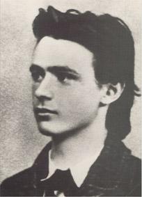 Rudolf Steiner als Abiturient