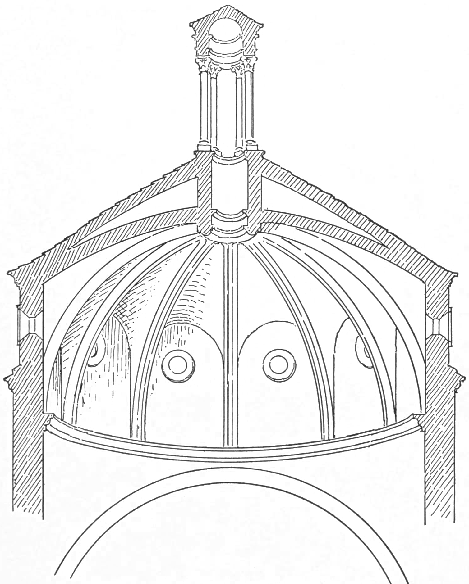FileSection Of Vault The Pazzi Chapel Character Renaissance Architecture