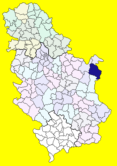 karta srbije negotin Општина Неготин — Википедија, слободна енциклопедија karta srbije negotin