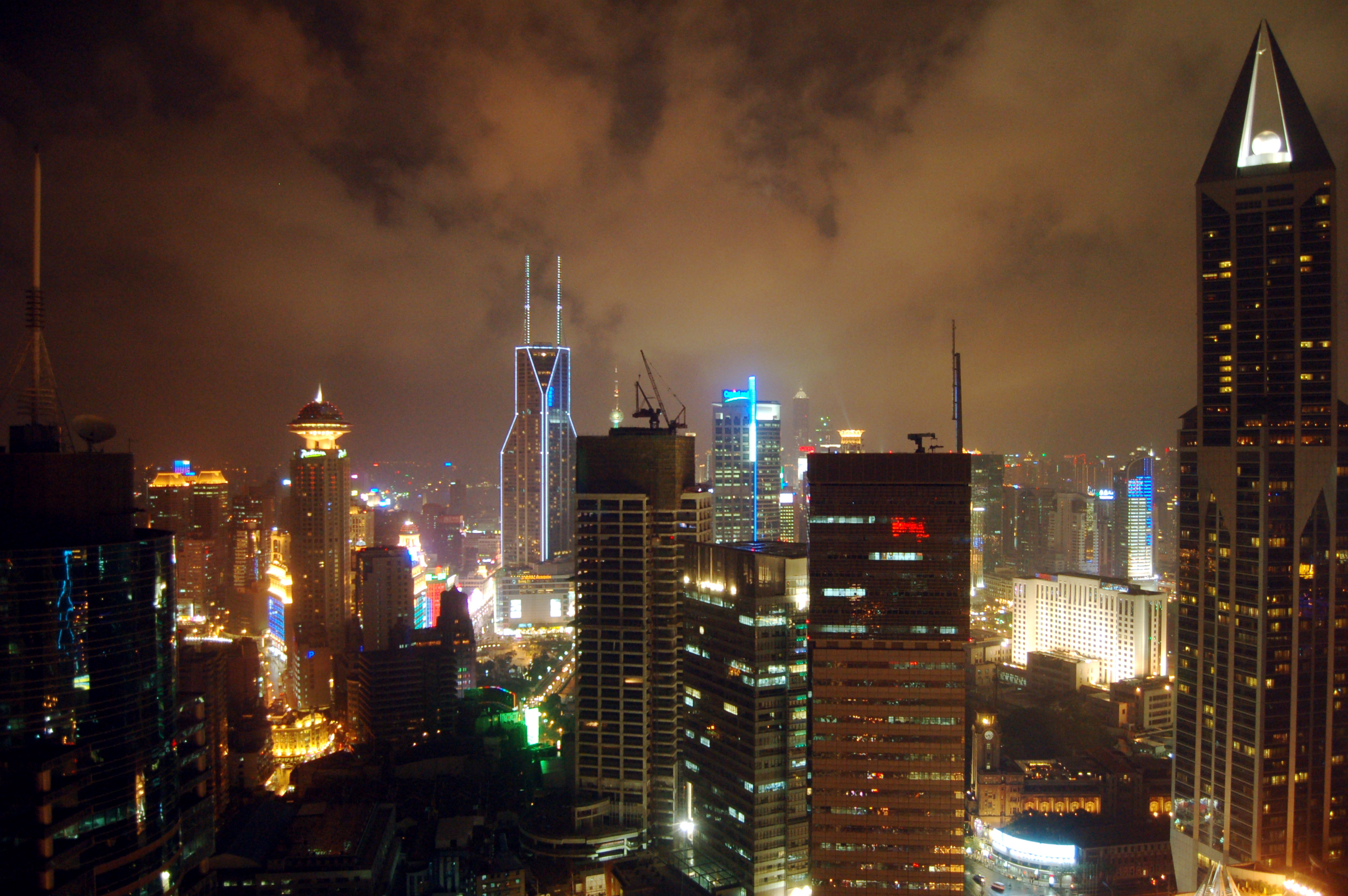 The West Bank Skyline of Shanghai