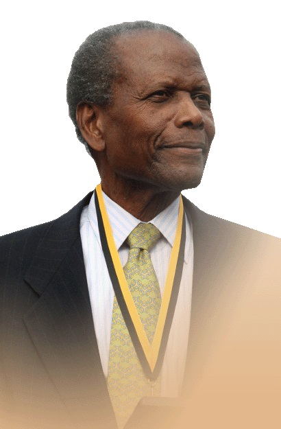 Depiction of Sidney Poitier