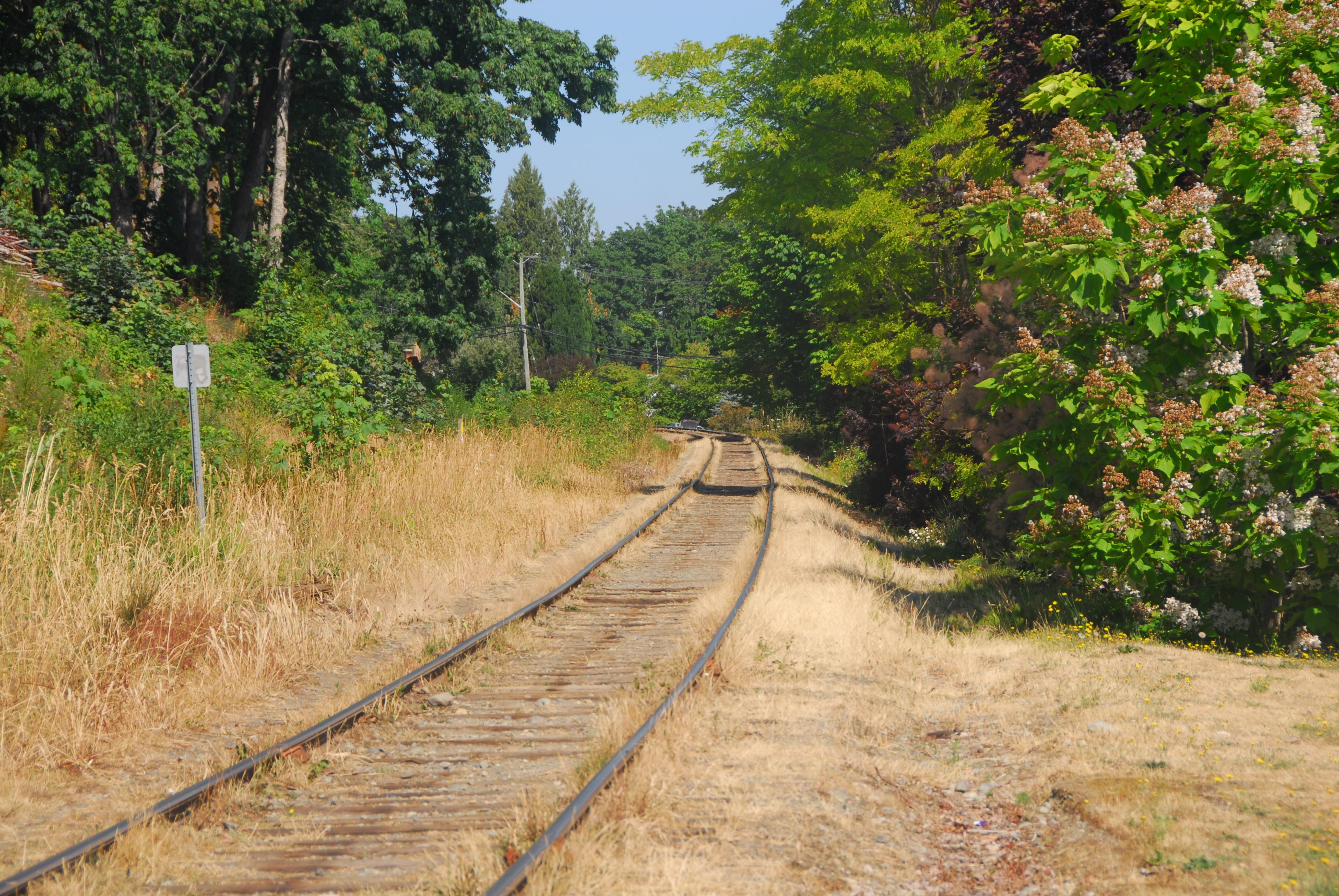 North Cowichan Railway Property Line Set Back