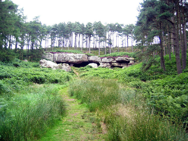 St Cuthbert's Cave - geograph.org.uk - 75776