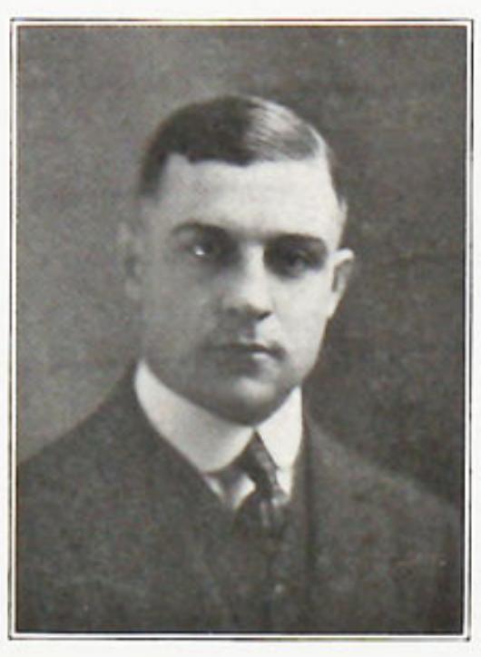 "Clark pictured in the '""Crimson Rambler 1921'', Carthage yearbook"